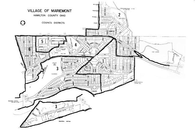 Council Voting Districts Www Mariemont Com The Village