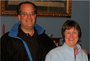 Pastor Todd Keyes and his wife Jamie