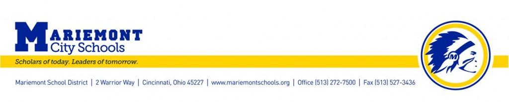 Mariemont Schools Top Banner
