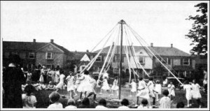May Day Circa 1930, Dale Park School