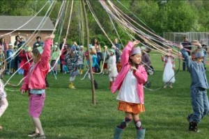 May Morning Circa 2013, Cincinnati Waldorf School