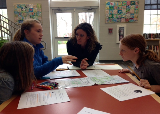 Architects Help Students Plan Community Designs