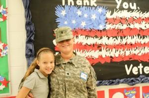 Veterans day Mariemont Elementary 1