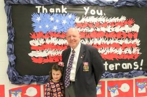 Veterans day Mariemont Elementary 5