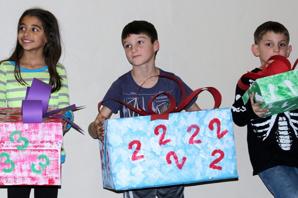 Olivia Zaveri (Mariemont, 3rd grade), Charlie Collister (Mariemont, 2nd grade), Seth Mason (Fairfax, 1st grade)