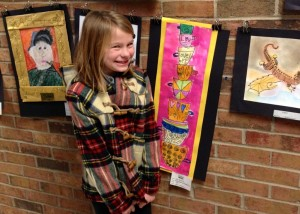Gigi Andrus, 1st grade at Mariemont Elementary. Williams Meadow.