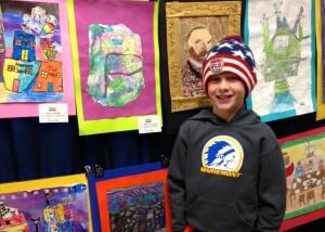 Max Miller, 3rd grade at Mariemont Elementary. Mariemont.