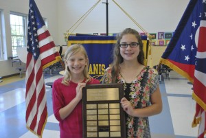 Kiwanis Recognizes Mariemont Elementary Students